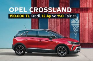 Opel Crossland Kampanyası