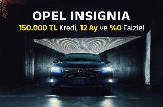 Opel Insignia Kampanyası